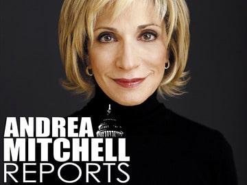 MSNBC's Andrea Mitchell